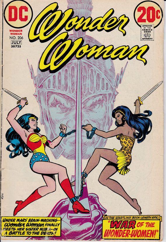 Wonder Woman (1942-1986 1st Series DC) #206 - June 1973 Issue - DC Comics - Grade VG/Fine