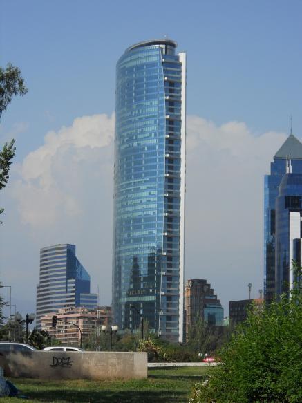 Santiago Chile Buildings Google Search Wolkenkrabbers