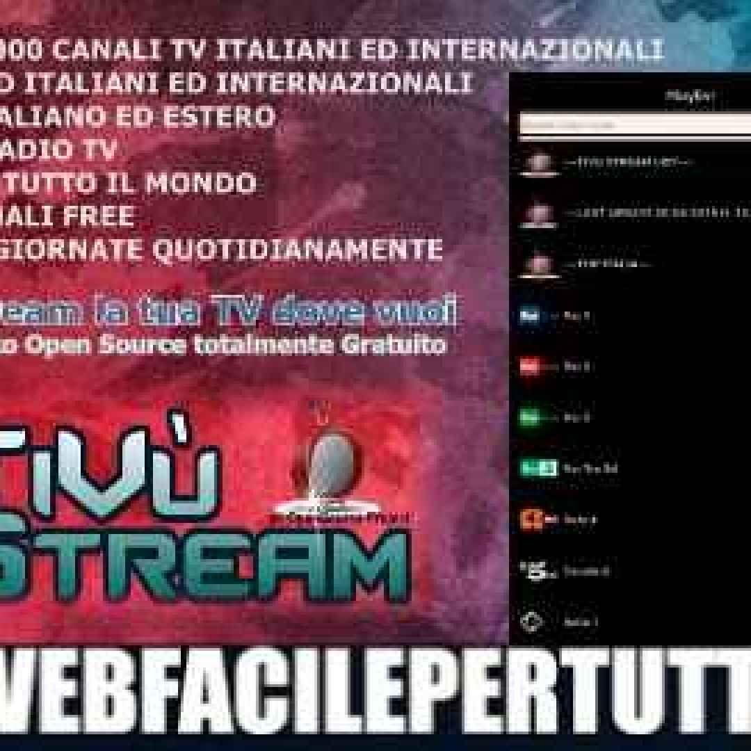 Tivustream 1 3 Apk) Scarica la nuova versione aggiornata con