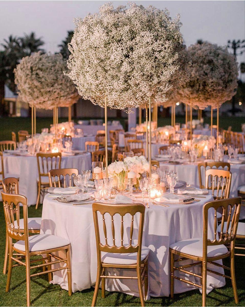 Baby Breath Flowers Wedding Floral Centerpieces Wedding Decor Inspiration Wedding Centerpieces