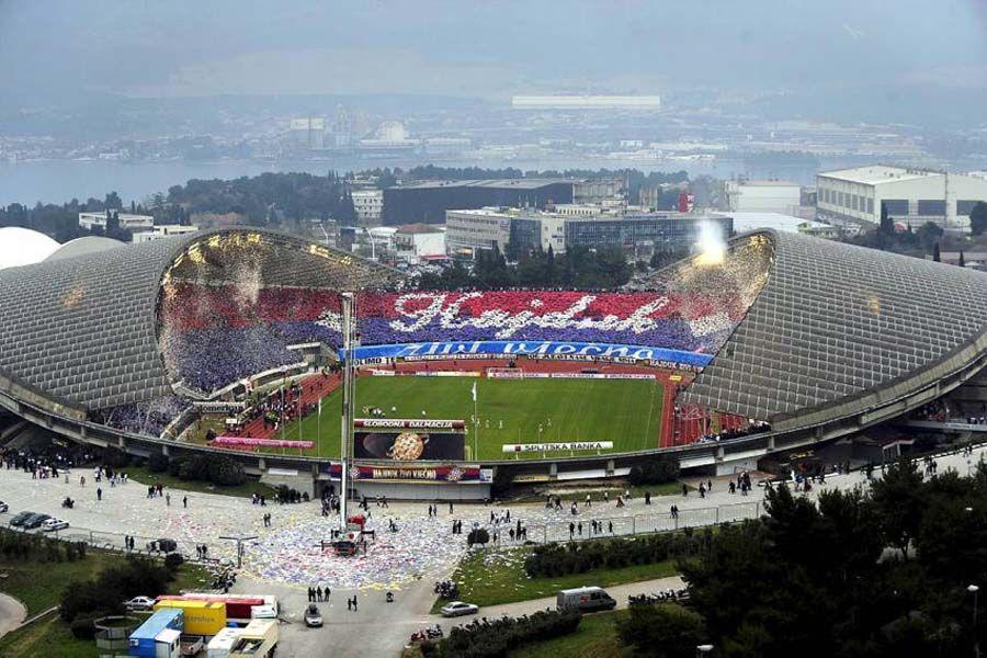 Hajduk Split Stadium Split Croatia Football Stadiums Croatia Sports Stadium