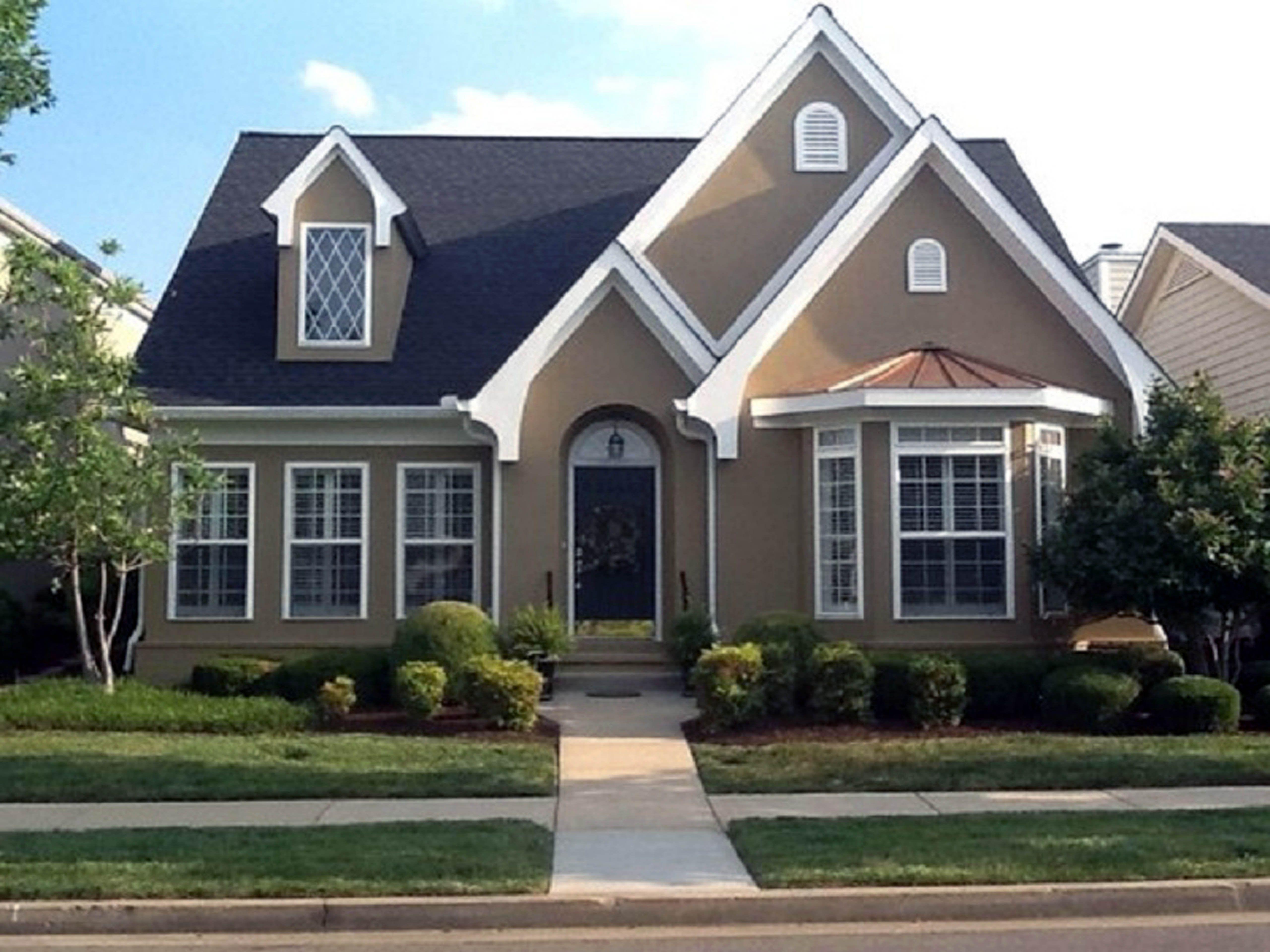 house exterior paint colors - Stucco Exterior Paint Color Schemes