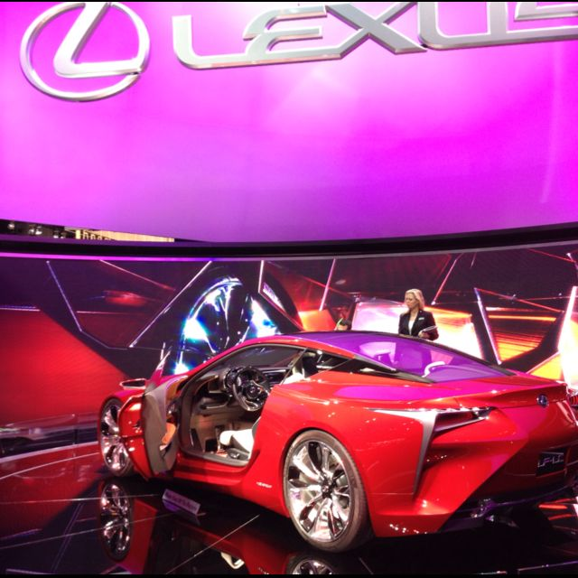 New Lexus Sports Car: New Lexus LF-LC Hybrid Sports Car