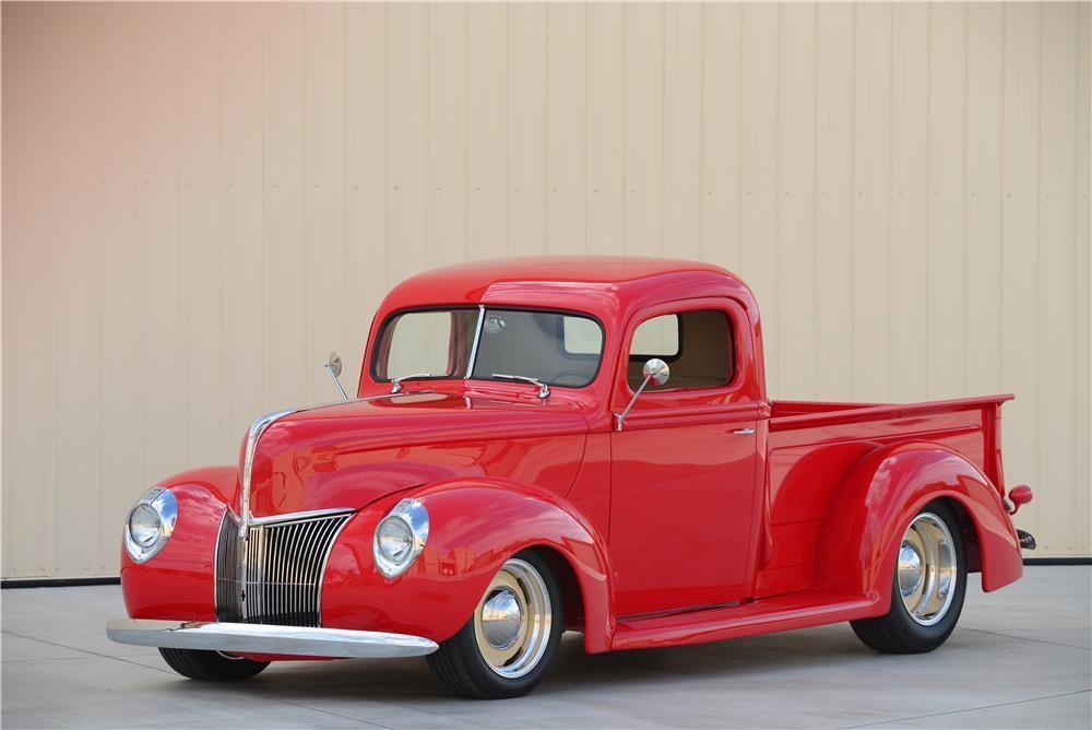 1940 FORD BOYD CODDINGTON PICKUP - Barrett-Jackson Auction Company ...