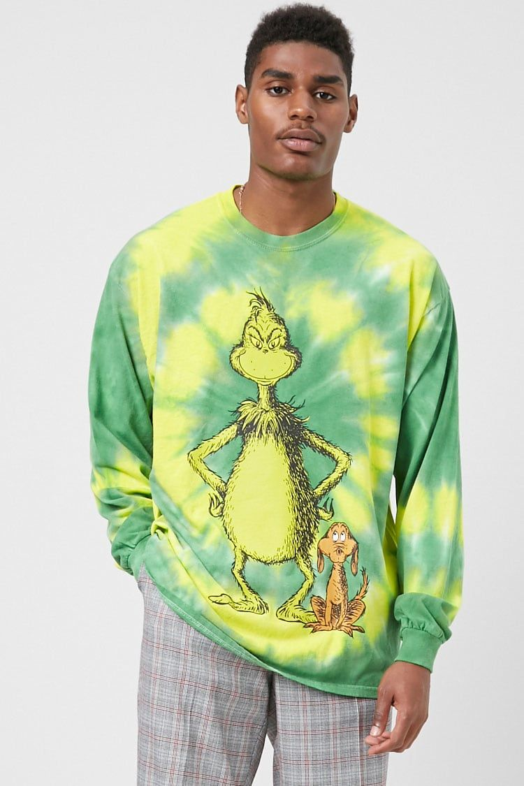 0e14667a3f7e37 Tie Dye The Grinch Tee | Forever 21 #thegrinch #affiliate ...