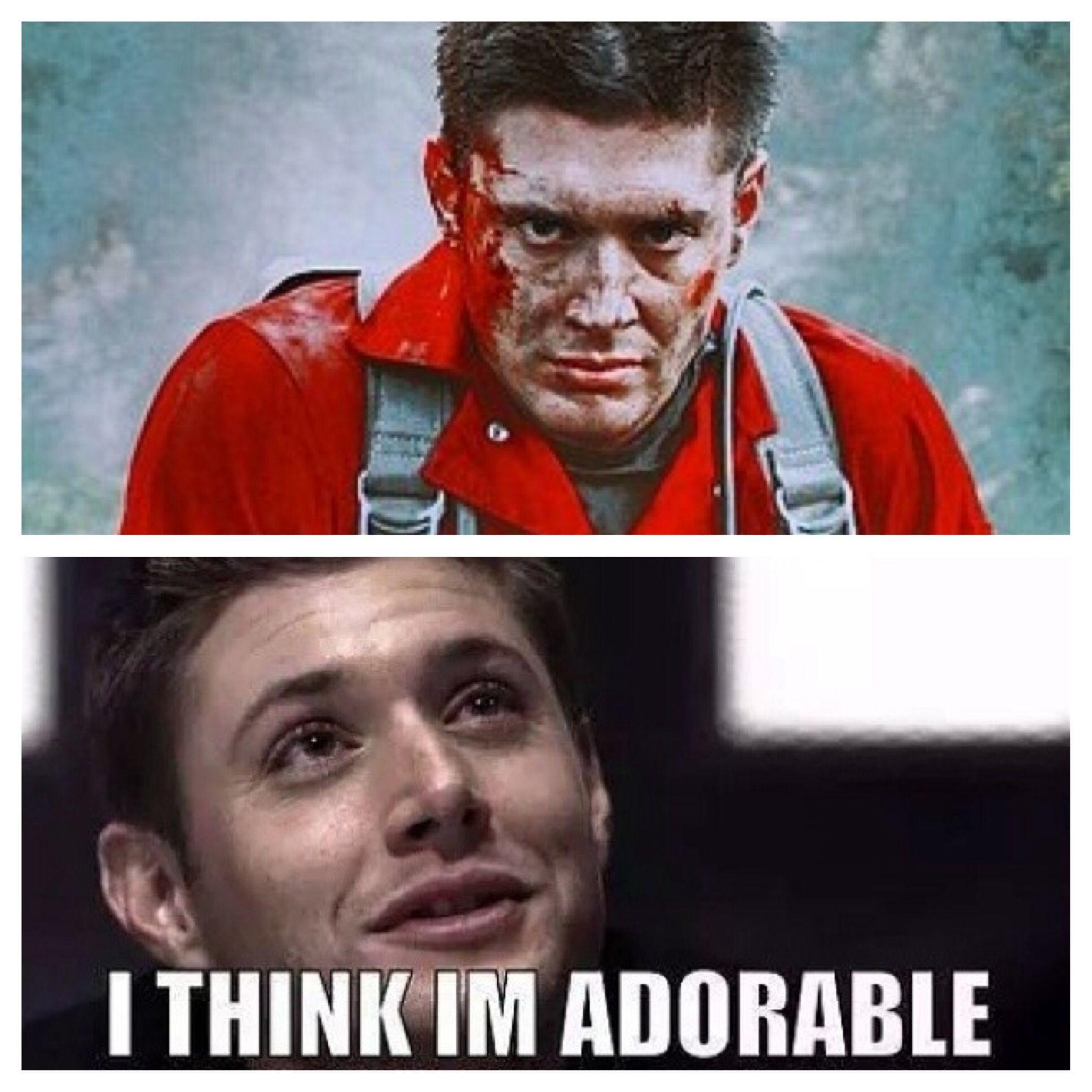 No words. ||| Jensen Ackles