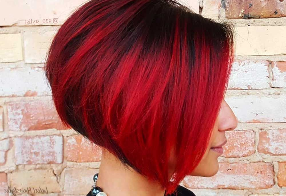 Haare rot kurze ombre 60 besten