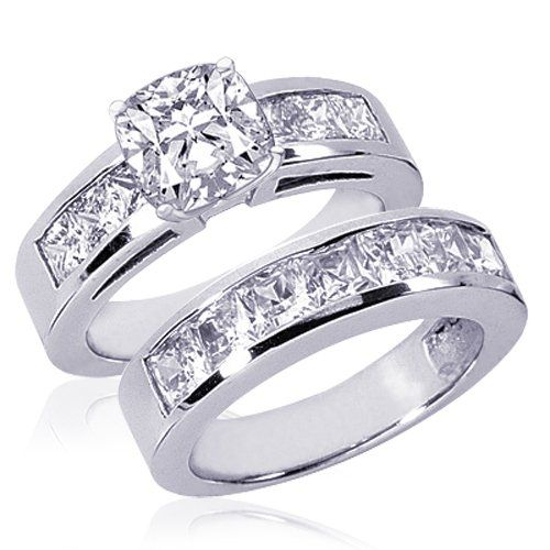 Diamond Wedding Rings Jewellery Pinterest Diamond wedding
