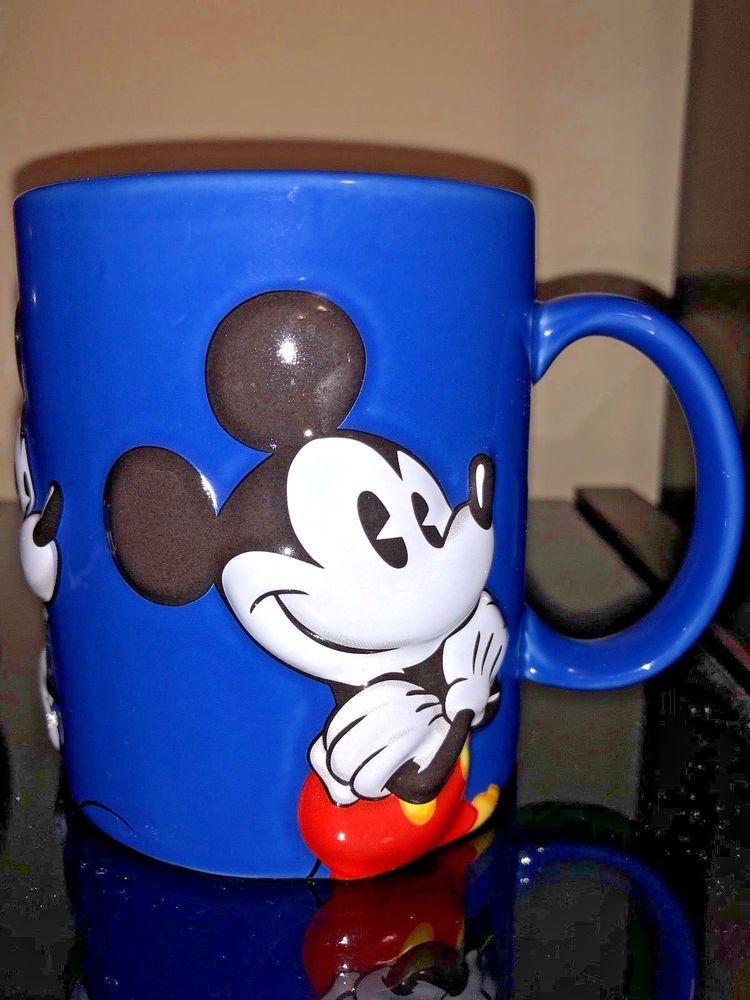 2019 Mug Vibrant Disney 3d Blue Coffee Mickey Ceramic In Mouse Tea hdtBsroQCx