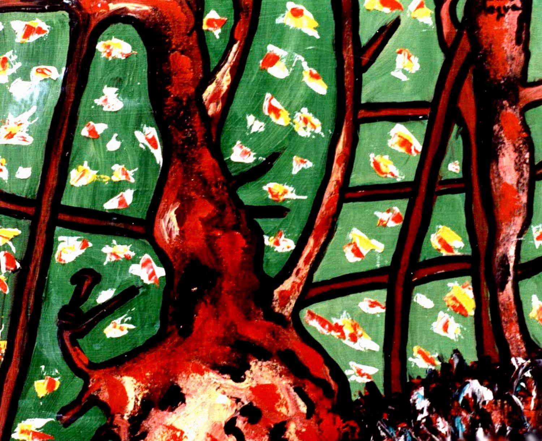 3-EXPRESIONISMO Abstracto.  Pintura óleo-Tabla 27x22 cm   http://www.saatchiart.com/art-collection/Painting/Expresionismo-ABSTRACTO/45144/70230/view