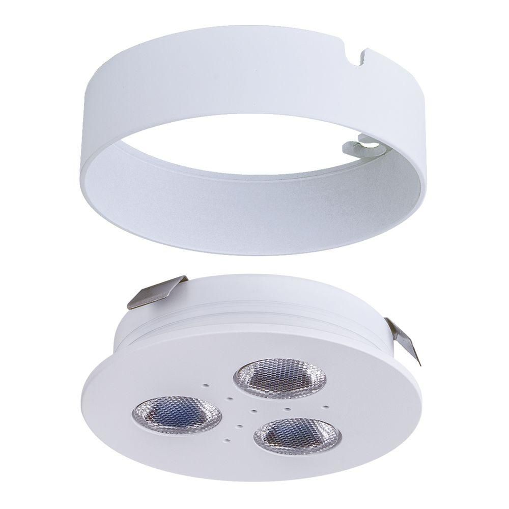 Armacost Lighting Pro-Grade Bright LED White Matte White Dimmable ...