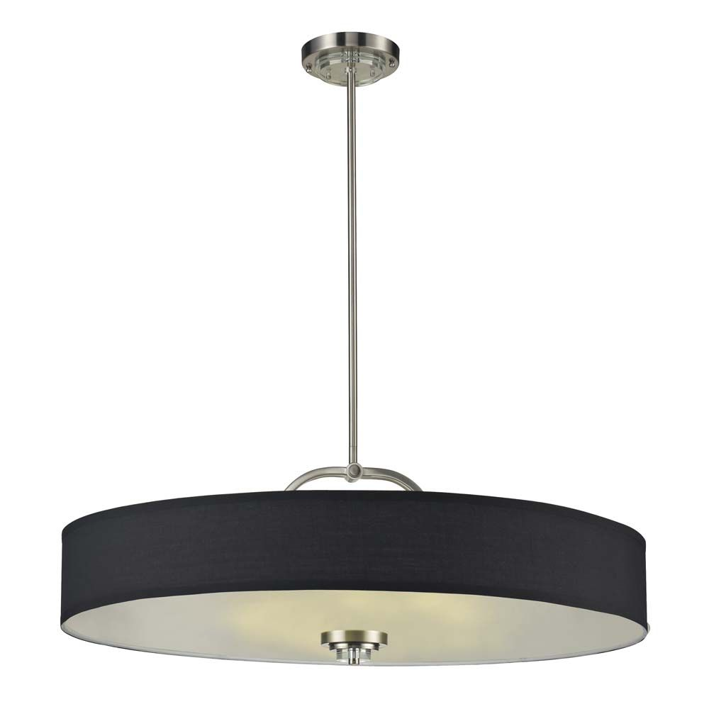 light  semiflush with black shade by nulco lighting  -  light  semiflush with black shade by nulco lighting