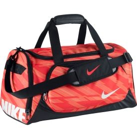 3ac5e5c493 Keep all of your gear secure in the Nike® Youth Team Training Duffle Bag.  With durable 600D polyester and water-resistant tarpaulin bottom