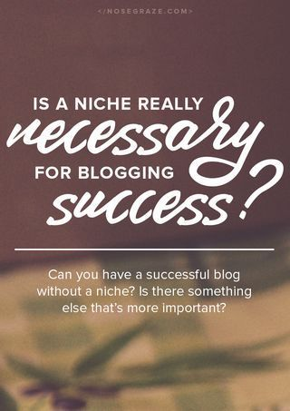 Importance of a blogging niche for growing your blog