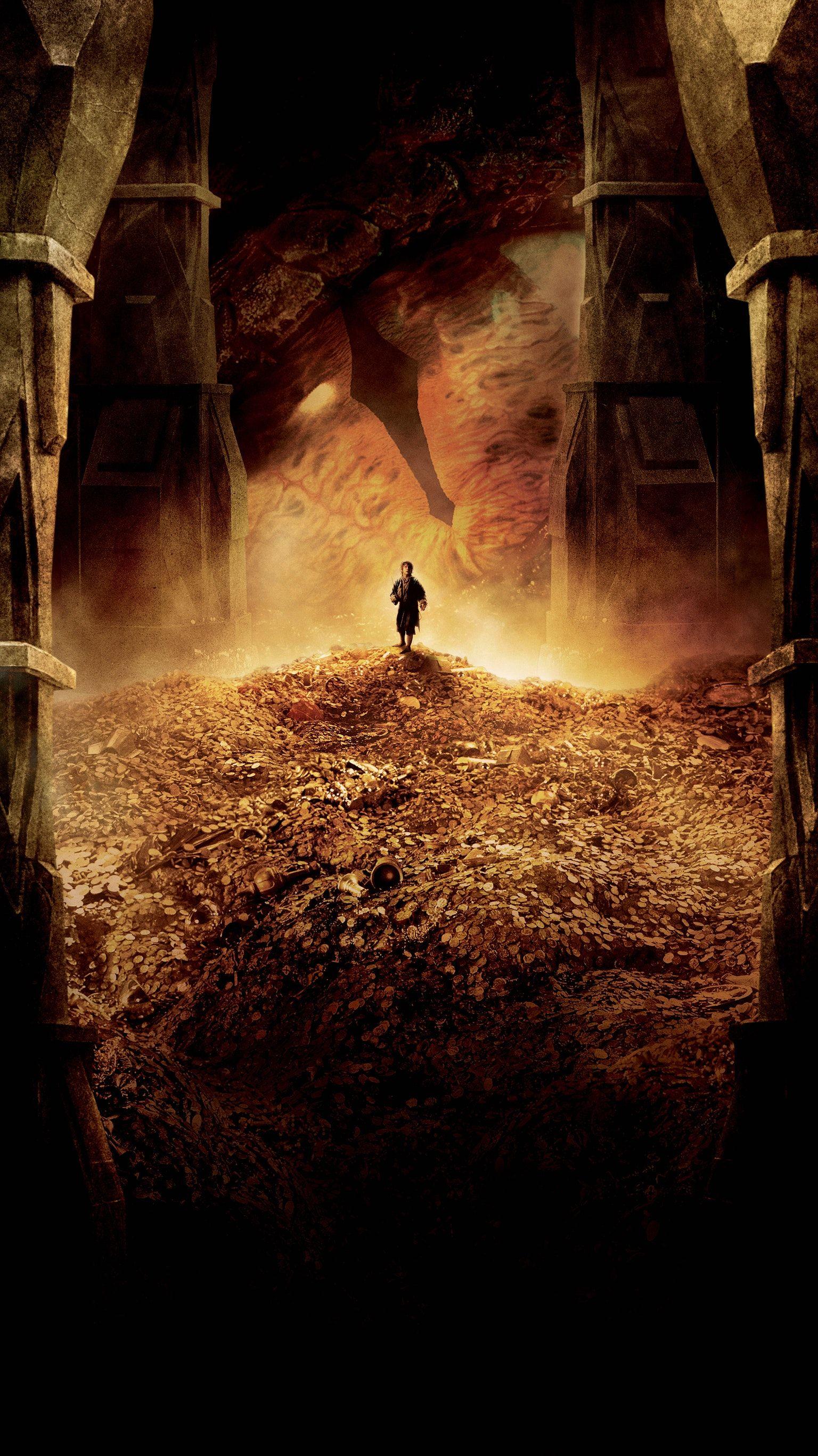 Desolation Hobbit of smaug iphone wallpaper