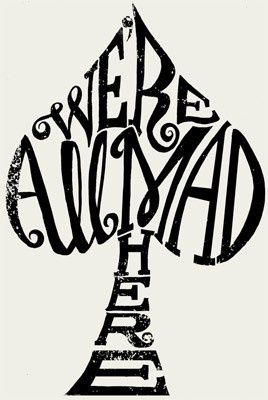 I am 99.9% sure Ill never get another tattoo ... but this is kind of cool. Alice in Wonderland. possible tattoo idea