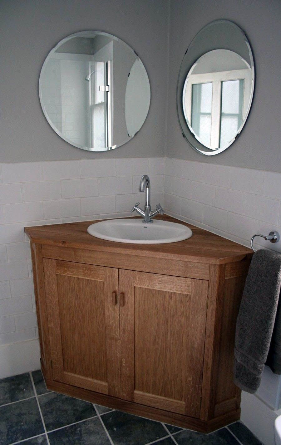 Stylish Ways To Decorate Bathroom Vanities Dallas Just On Homesable Com Corner Sink Bathroom Corner Bathroom Vanity Shabby Chic Bathroom