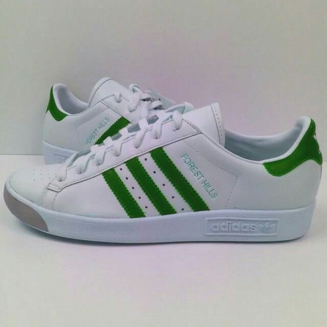 quality design 0c94b b408d BACK TO THE 80 S WITH STUNNING GREEN WHITE FOREST HILLS Adidas Og, Adidas  Sneakers