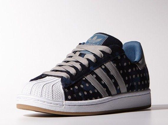 scarpe adidas superstar a pois
