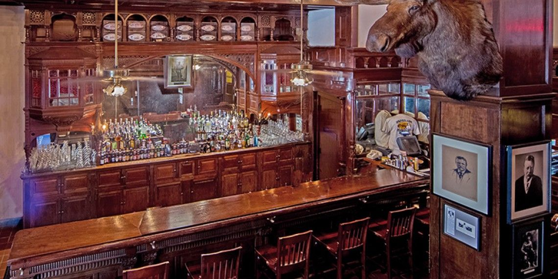 Have A Drink At Historic Menger Bar Menger Hotel Downtown