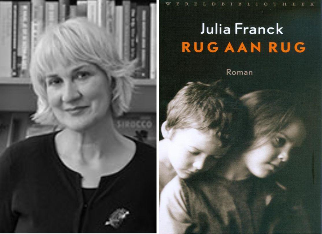 Onze Keuze Gerda Rug Aan Rug Julia Franck Boeken Boekhandels
