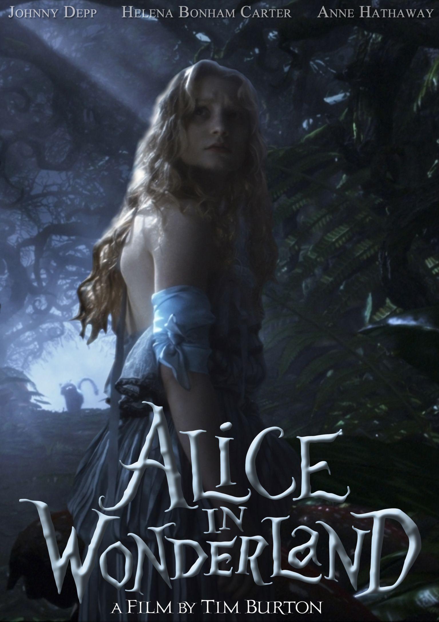 Movie Poster 3 Alice In Wonderland Poster Alice In Wonderland Fanart Alice In Wonderland