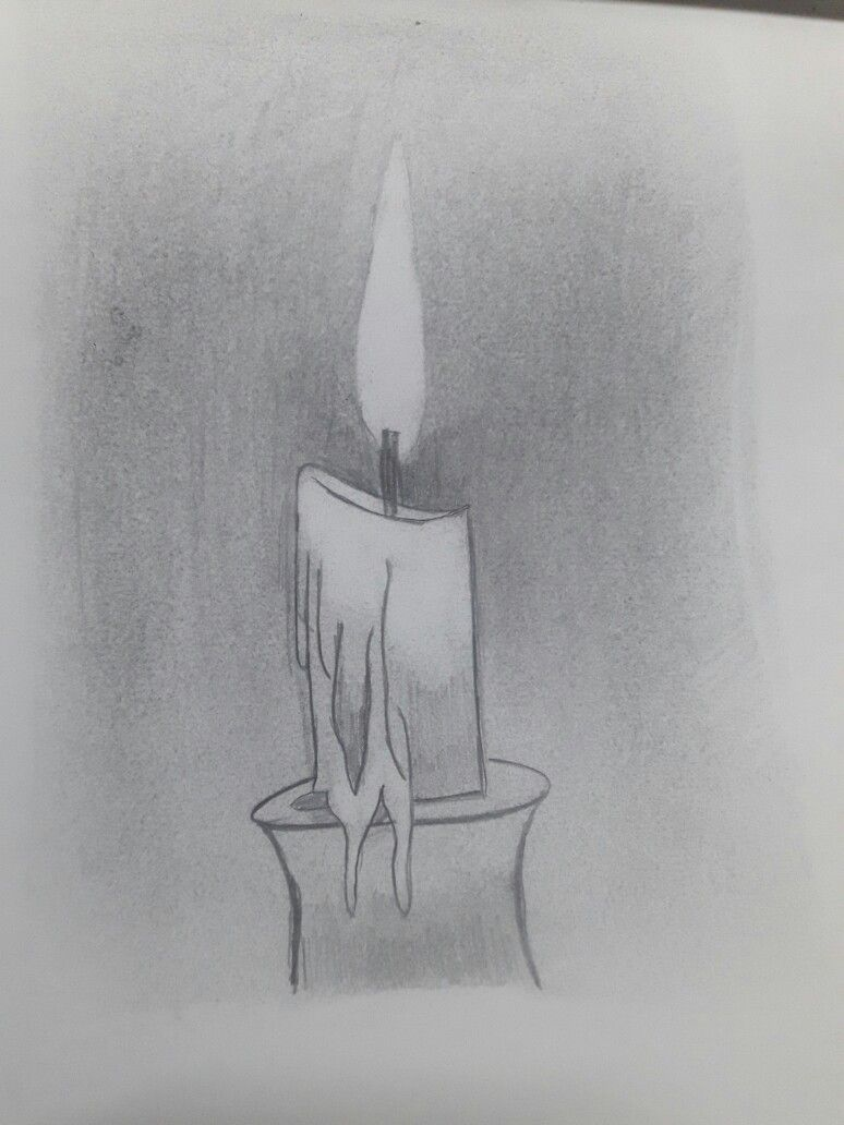 Candle pencil art my types of drawing sketches pencil art drawings