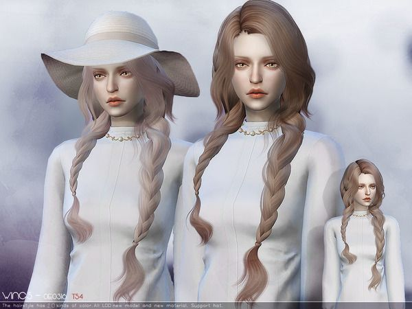 wingssims' WINGSOE0316 Sims 4 Hair (Females) Sims