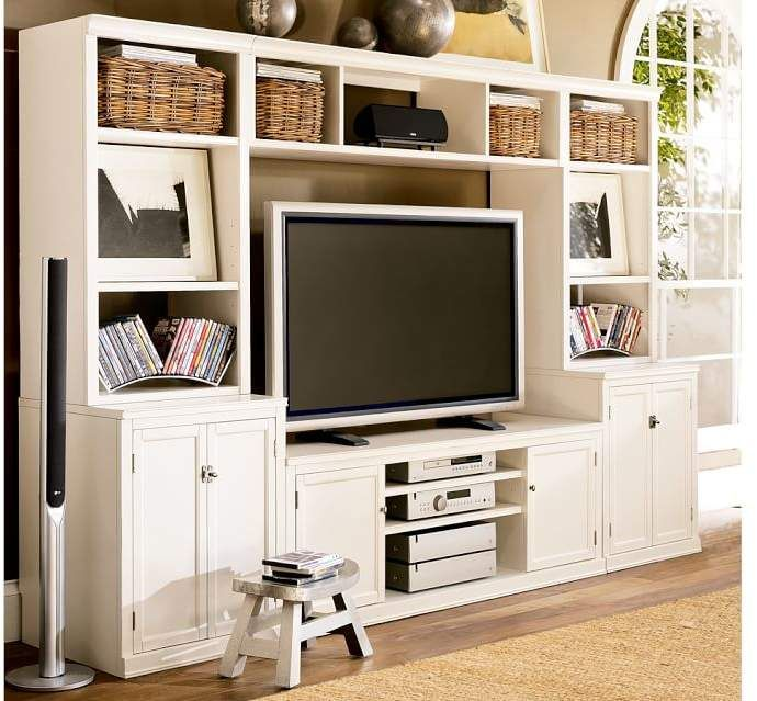 Pottery Barn Medium Media Suite Diy Entertainment Home