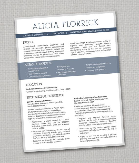 colors in resume