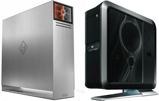Voodoo Omen (left) and HP BlackBird 002 with VoodooDNA