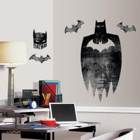 Batman Silhouette Giant Wall Graphic