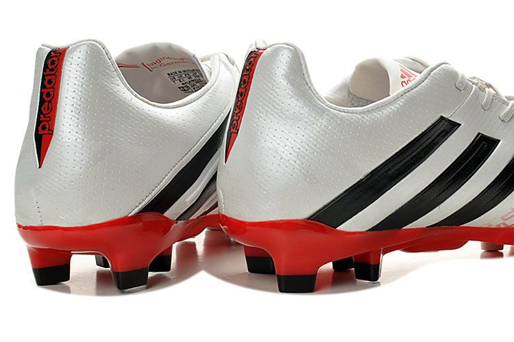 Adidas Predator Lethal Zones Cleats 2013 For David Beckhams Retirement Game  - White Black Red 38aa779a5585