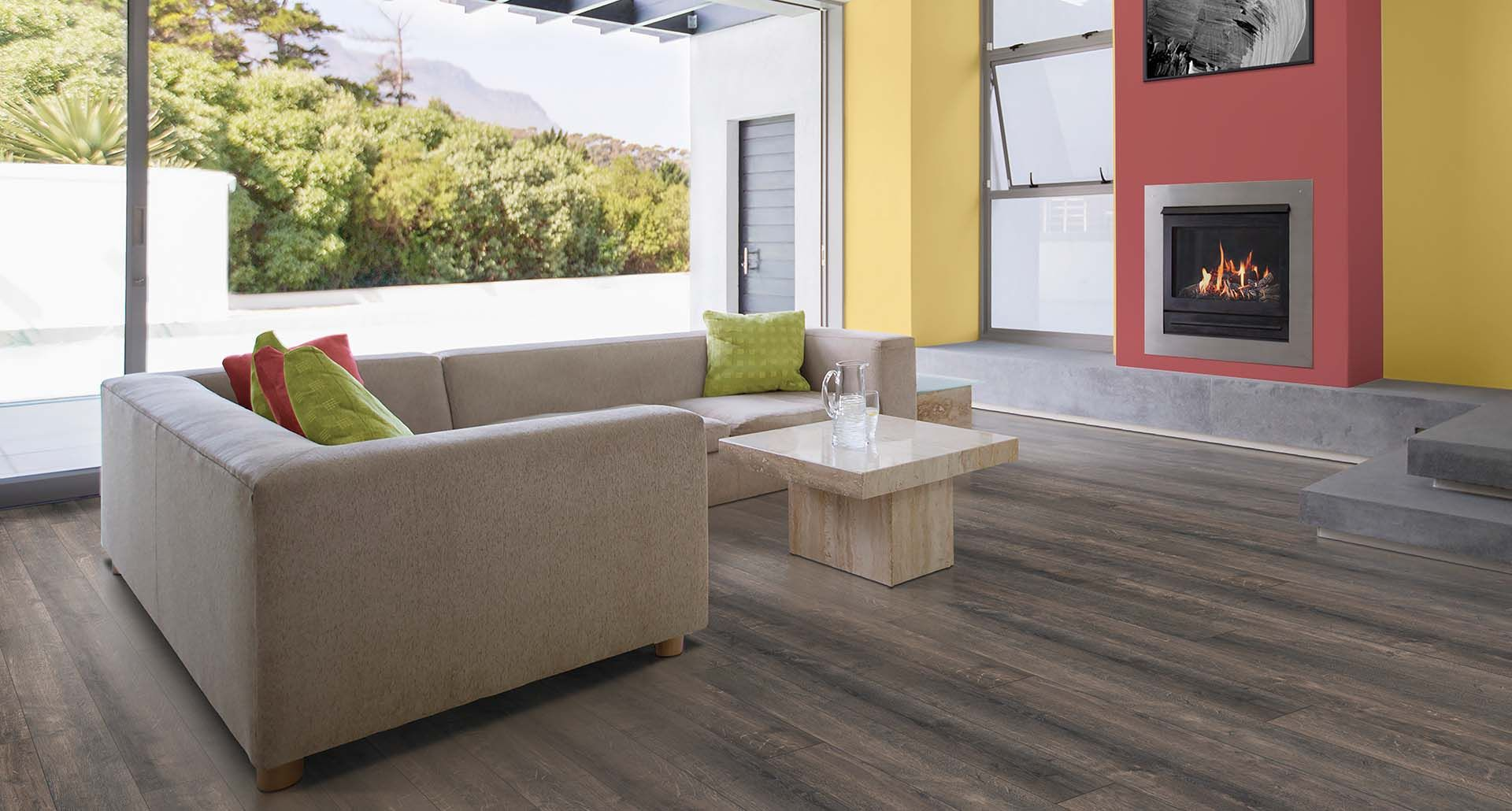 Hidalgo Oak Natural Laminate Floor Grey Oak Wood Finish