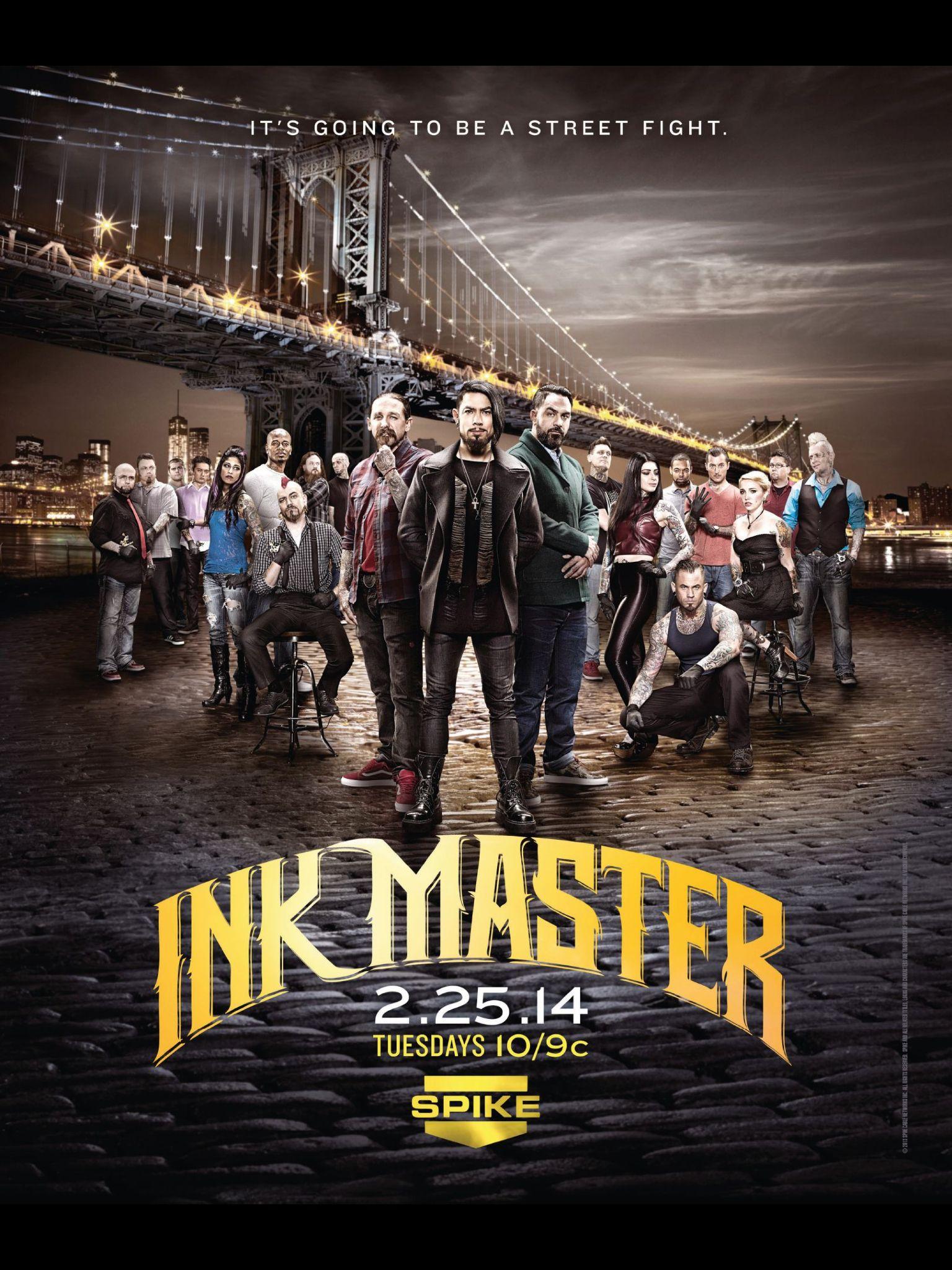 Ink Master Ink master, Street fights, Video on demand
