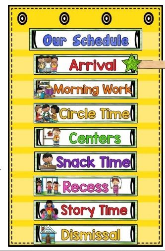 Kindergarten Calendar Time Routine : The perfect first calendar for home or classroom