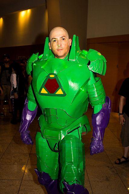 Lex Luthor cosplay, Dragon Con 2013.