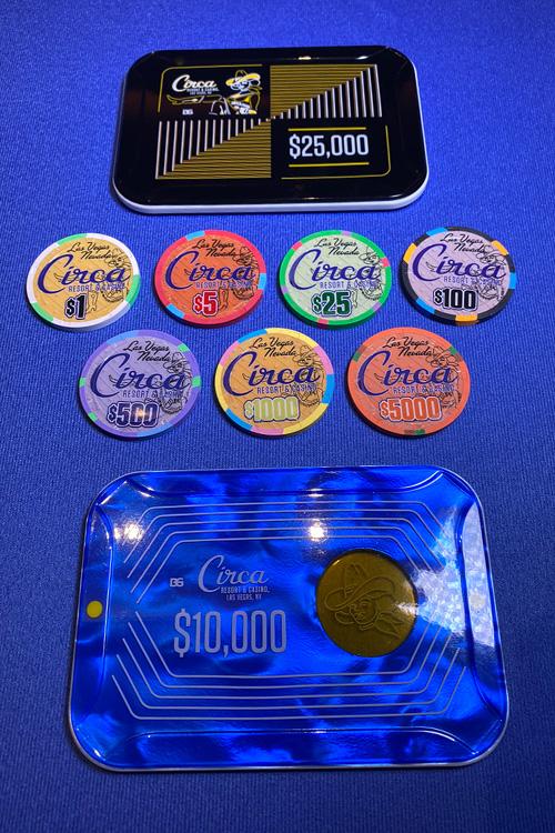 Circa Chips And Plaques Vegas Casino Casino Las Vegas Las Vegas