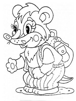 Badger Coloring Pages Realistic Coloring Pages Kids Coloring