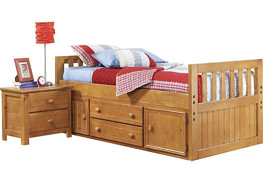 Shop For A Creekside 3 Pc Twin Captains Bed At Rooms To Go Kids