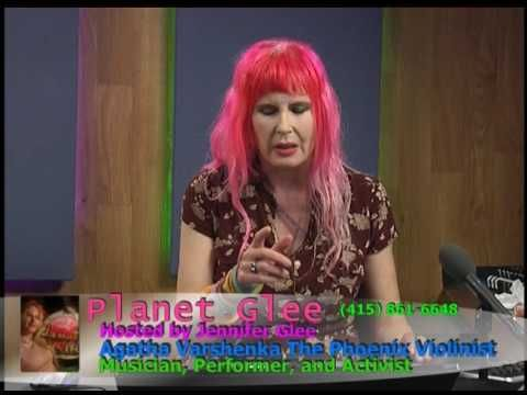 Agatha Varshenka on PlanetGlee Live