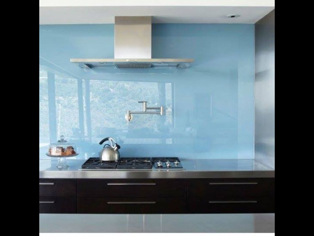 - No More Back Splashing Grout Cleaning With A Lot Of Style Glass