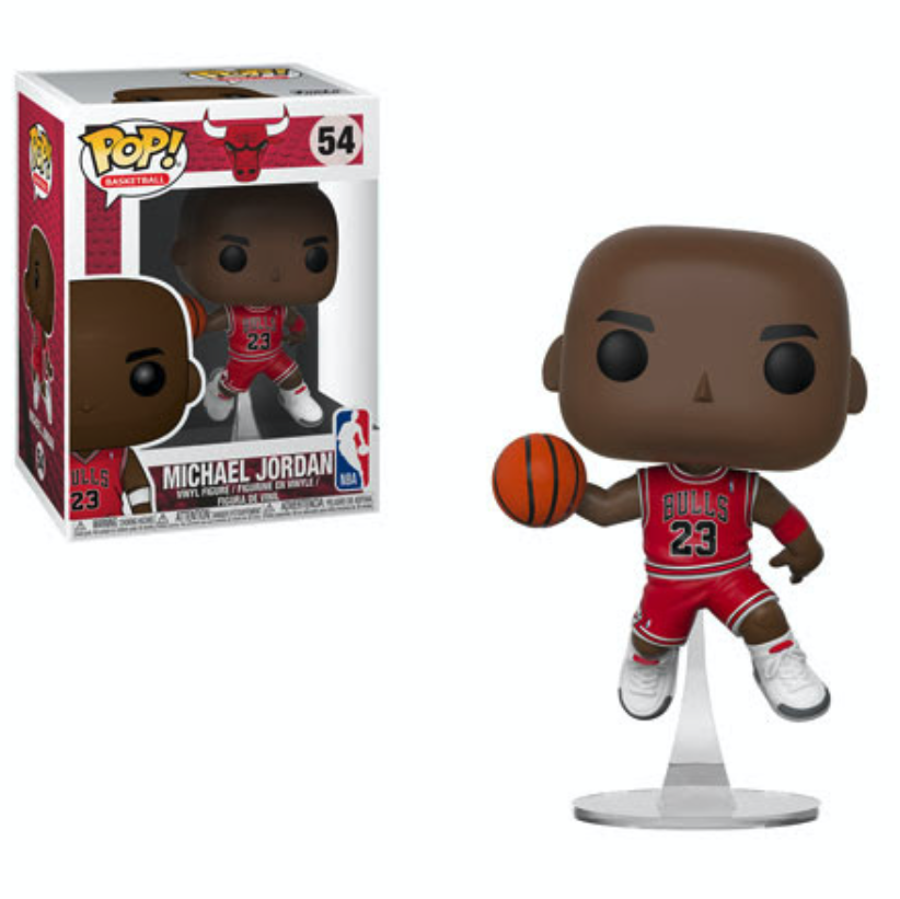 Basket-ball Bulls Vinyl Figure #54 MICHAEL JORDAN Funko Pop