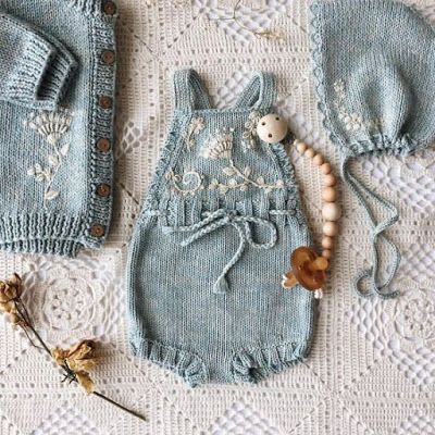 Photo of Strikkede baby-onesie-modeller – Happy Ornament Home – Gratis gave …