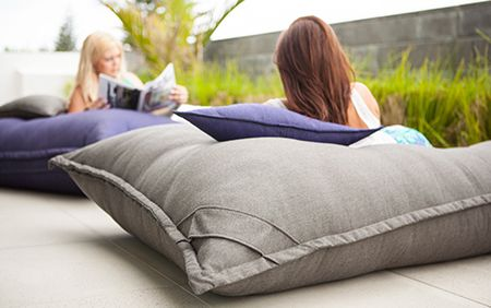 Heavenly Giant Cushions For Indoor Outdoor Lounging Diy Outdoor Cushions Modern Outdoor Seating Outdoor Cushions And Pillows