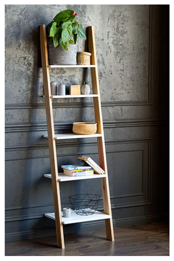 Elegant Leiter Deko Bilder Von Wohndesign Design
