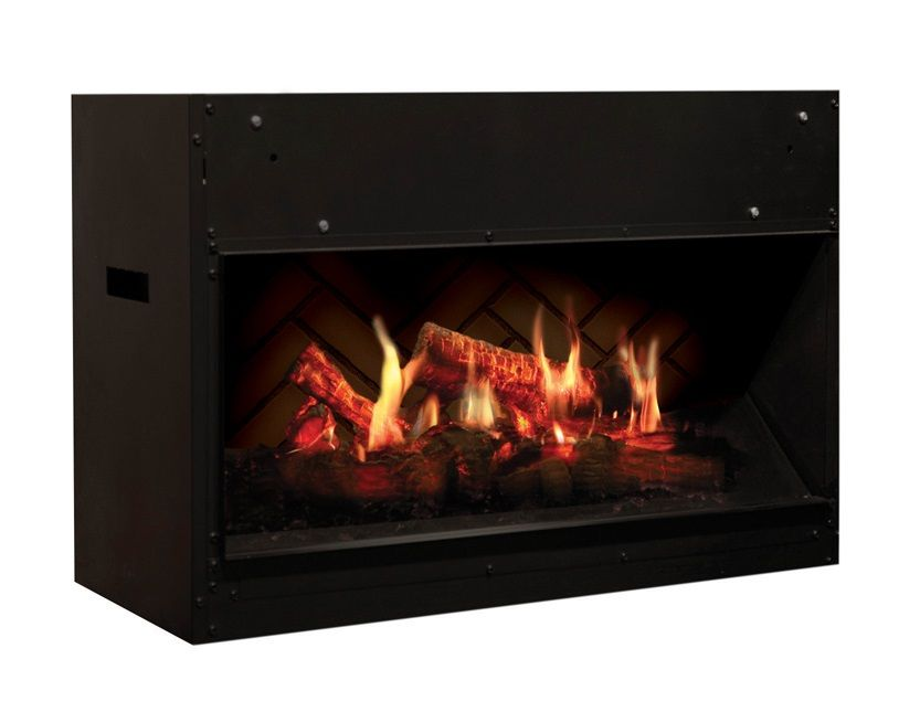 Do You Want To See What The Most Realistic Electric Fireplace Looks Like Check Out This One It Even Electric Fireplace Realistic Electric Fireplace Fireplace