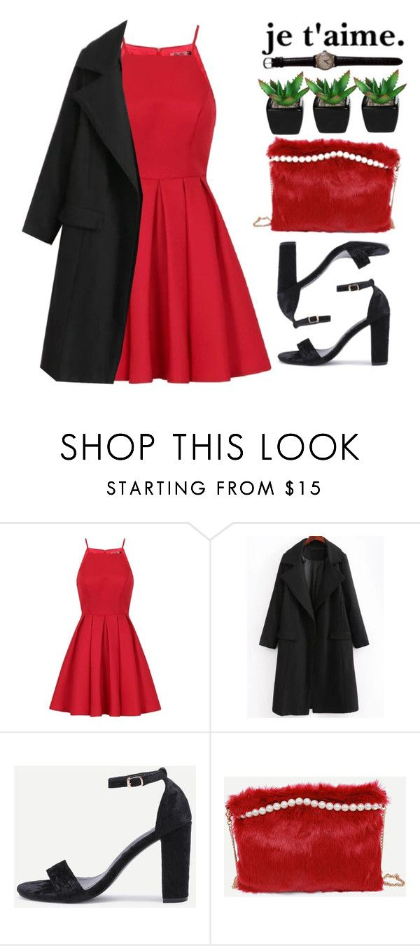 """je t'aime."" by m-zineta ❤ liked on Polyvore featuring Chi Chi"