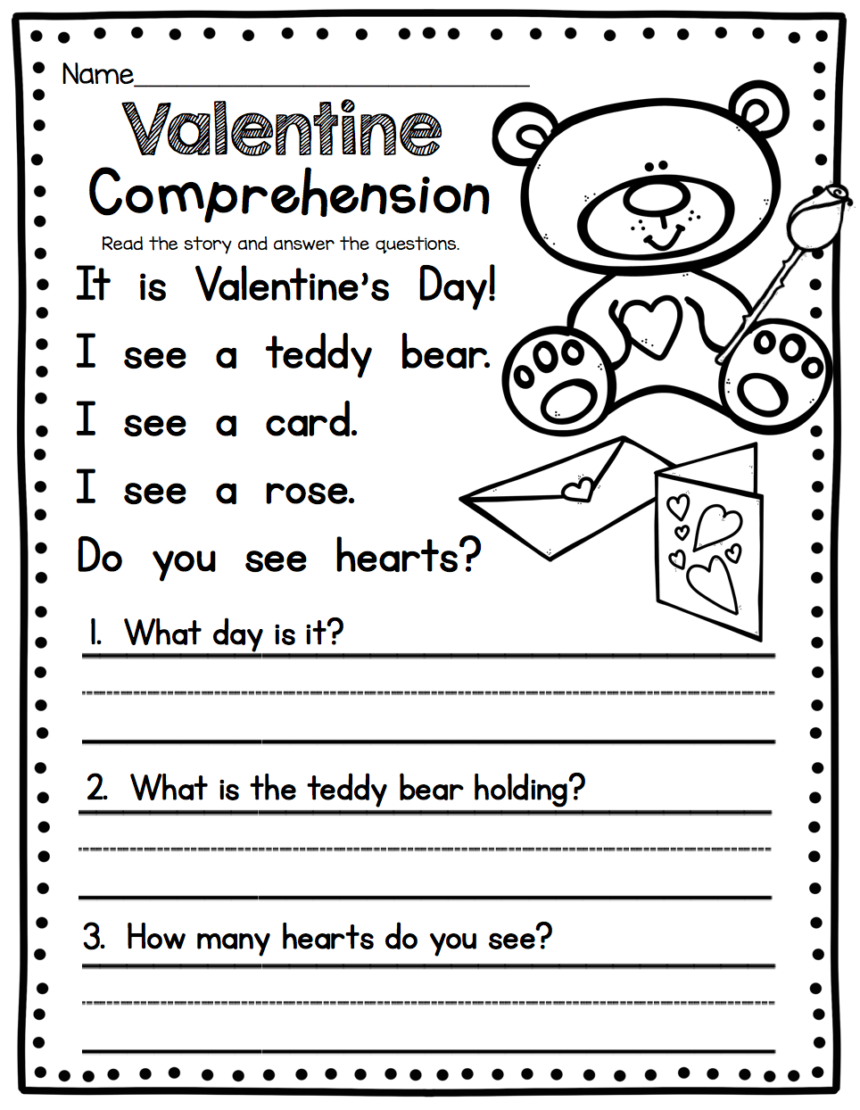 - Staggering First Grade Reading Comprehension Stories Worksheet
