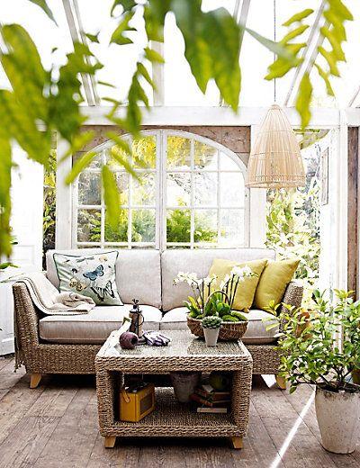 Admirable Bermuda Medium Sofa Rotang Rattan Garden Furniture Machost Co Dining Chair Design Ideas Machostcouk